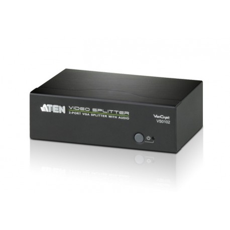 ATEN : VS0102 2-Port VGA Splitter with Audio