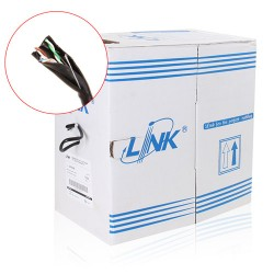 LINK CAT5e UTP Cable (305m./Box)(Double jacket OUTDOOR, US-9045) Original