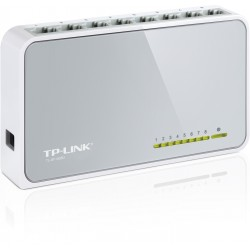 TP-LINK 8-Port 10/100Mbps Desktop Switch TL-SF1008D