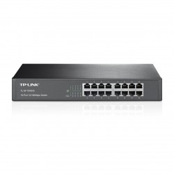 Switching Hub TP-LINK ยี่ห้อ TL-SF1016DS 16-Port 10/100Mbps Desktop/Rackmount Switch