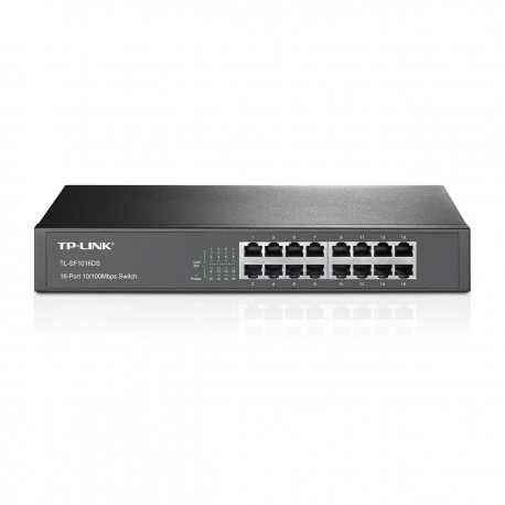 TP-LINK 16-Port 10/100Mbps Desktop/Rackmount Switch TL-SF1016DS