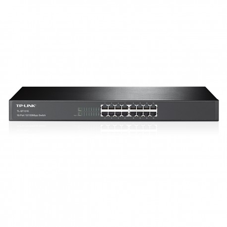 TP-LINK 16-Port 10/100Mbps Rackmount Switch TL-SF1016