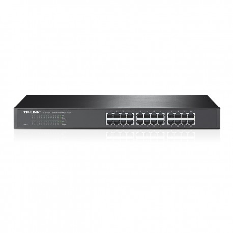 TP-LINK 24-Port 10/100Mbps Rackmount Switch TL-SF1024