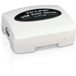 TP-LINK Single USB2.0 Port Fast Ethernet Print Server TL-PS110U