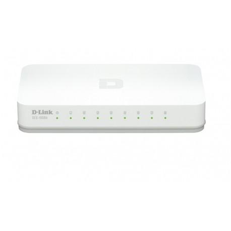 D-Link DES-1008A - Desktop Switch 8-Port 10/100 Mbps