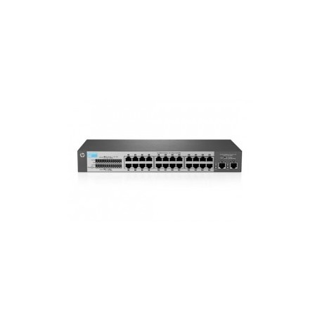 HP 1410-24-2G (J9664A) 24-Port 10/100 + 2-Port 10/100/1000 Mbps Unmanaged Switch