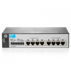 HP 1810-8 V2 (J9800A) 7-Port 10/100 + 1-Port 10/100/1000 Layer 2 Smart Managed Switch