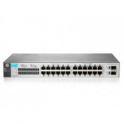 HP 1810-24 V2 (J9801A) 22-Port 10/100 + 2-Port SFP 1000 Mbps Layer 2 Smart Managed Switch