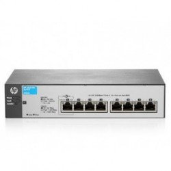 HP 1810-8G V2 (J9802A) 8-Port 10/100/1000 Layer 2 Smart Managed Gigabit Switch