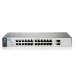 HP 1810-24G V2 (J9803A) 24-Port 10/100/1000+2-Port SFP 1000 Mbps Layer 2 Smart Managed Gigabit Switch