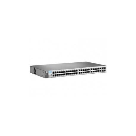 HP 1810-48G (J9660A) 48-Port 10/100/1000+4-Port SFP 1000 Mbps Layer 2 Smart Managed Gigabit Switch