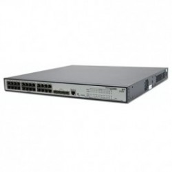 HP 1910-24G-PoE 170W (JE008A) 24-Port 10/100/1000 PoE+4-Port SFP 1000 Mbps Layer 2 Smart Managed Gigabit Switch