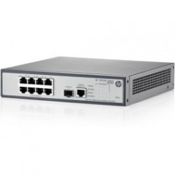 HP 1910-8G-PoE+ 180W (JG350A) 8-Port 10/100/1000 PoE+1-Port SFP 1000 Mbps Layer 2 Smart Managed Gigabit Switch