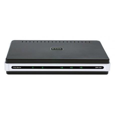 D-LINK DPR-1061 3 Port Print Server