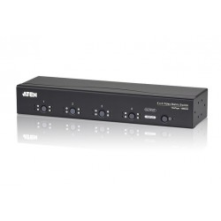 ATEN : VM0404 (4 x 4 Video Matrix Switch with Audio)