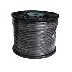 Cable 300M RG6/168 WATASHI Power Line WCP043 (Black)