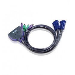 ATEN : CS62S2-ports PS/2 KVM Cable 0.9 m