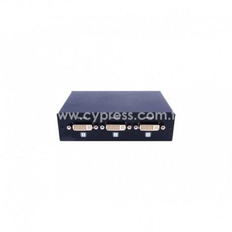 1X4 DVI SPLITTER CYP รุ่น CDVI-4S