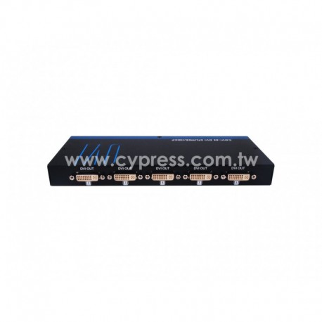 1X8 DVI SPLITTER CYP รุ่น CDVI-8S