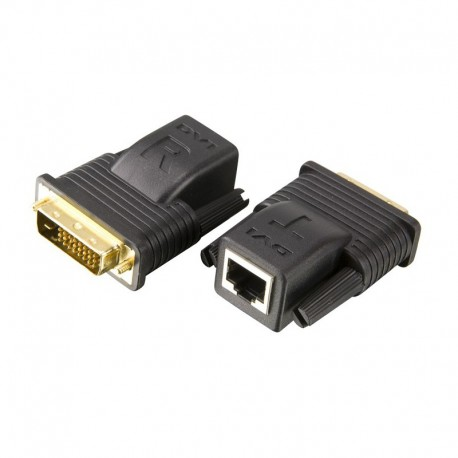 MINI CAT5 DVI EXTENDER รุ่น VE066