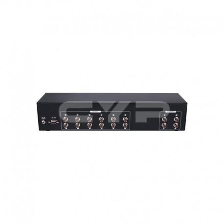 12X4 3G-SDI MATRIX WITH 2U DESIGN รุ่น CMSDI-124