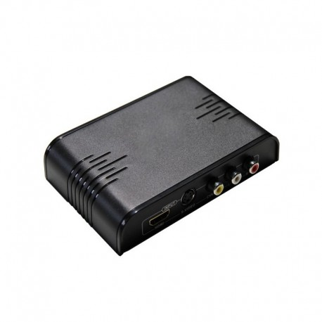AV, S-VIDEO, HDMI TO HDMI CONVERTER WITH SCALER รุ่น LC-C2H