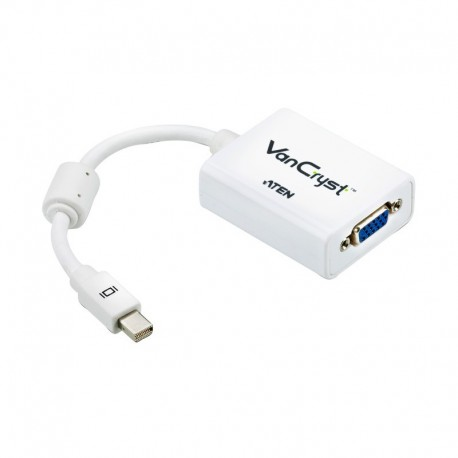 MINI DISPLAY PORT TO VGA ADAPTER FOR MAC ATEN รุ่น VC920