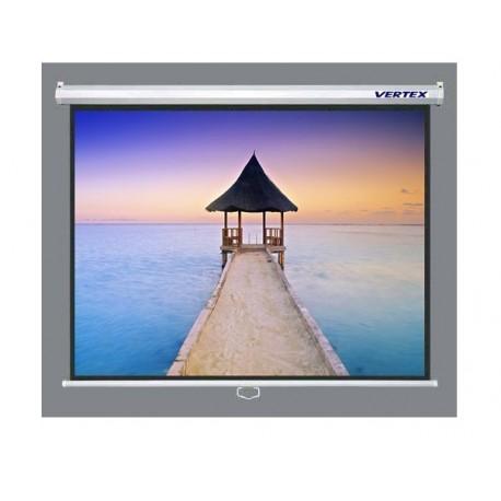 Vertex : ขนาด 70x70 นิ้ว 180x180 (cm) อัตราส่วน 1:1 เนื้อภาพแบบ Matt White
