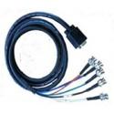 สาย VGA Cable to 5 BNC M/M ความยาว 1.8 เมตร