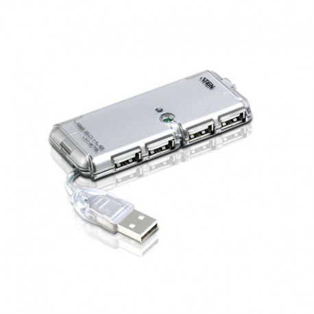 ATEN USB 2.0 HUB 4 PORT WITH ADAPTER รุ่น UH275A