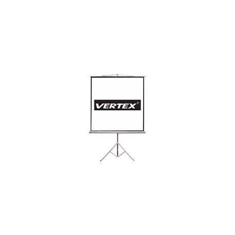 VERTEX จอขาตั้ง Tripod Screen (จอขาตั้ง) 50 นิ้ว เนื้อ MW สัดส่วน 1:1
