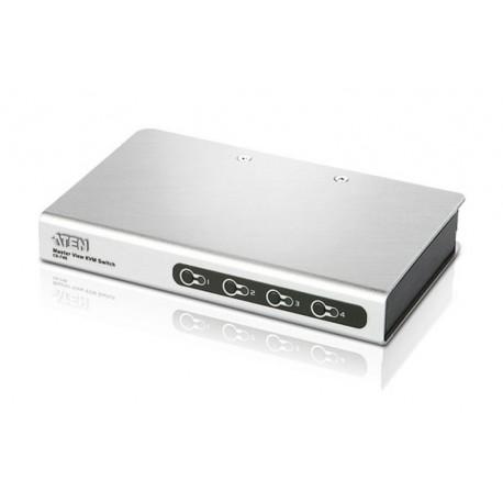 ATEN:CS74E  4-port PS/2 KVM Switch