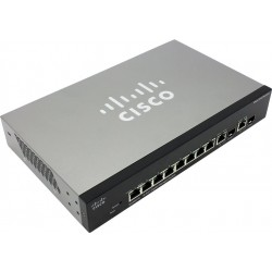 Gigabit Switching Hub CISCO (SRW2008-K9-G5) 8 Port + 2 Port SFP