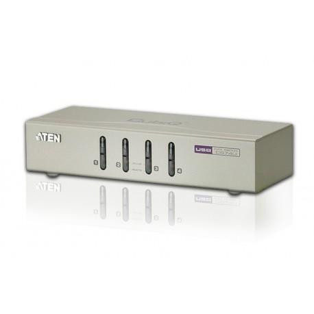 ATEN: CS74U  4 port USB KVM Switch with Audio