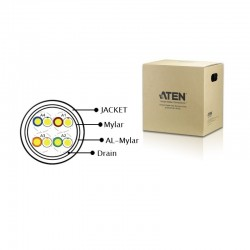 ATEN : SHIELDED DIGITAL VIDEO EXTENSION CABLE