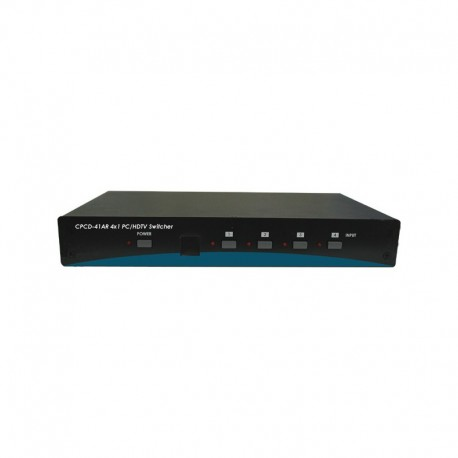 CPCD-41AR : CYPRESS 4 IN/1 OUT VIDEO SWITCHER