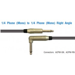 AMPHENOL Phone (Mono) to Phone (Mono) Right Angle