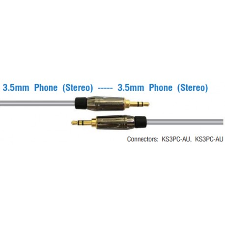 AMPHENOL 3.5mm Phone (Stereo) ---- 3.5mm Phone (Stereo)