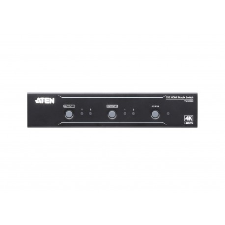 ATEN : VM0202H  2x2 4K HDMI Matrix Switch
