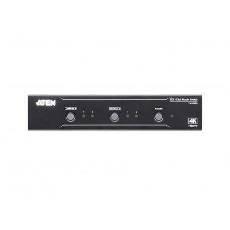 ATEN : VM0202H  2x2 4K HDMI Matrix Switch
