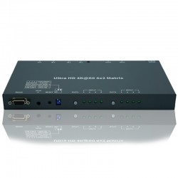 NEXIS: MX0402H  4K HDMI MATRIX SWITCHER 4 X 2