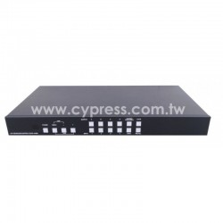 CYP: CDPS-44SM  4×4 HDMI VIDEO WALL SEAMLESS MATRIX SWITCHER