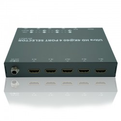 NEXIS: MS401 4K HDMI SELECTOR 4-PORT