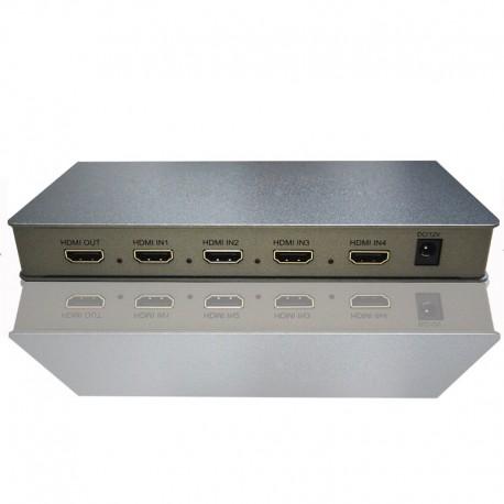 NEXIS: SH-SW41D HDMI QUAD SWITCHER