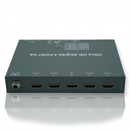 NEXIS รุ่น MS104 4K HDMI SPLITTER 4-PORT (4K@60HZ 444)