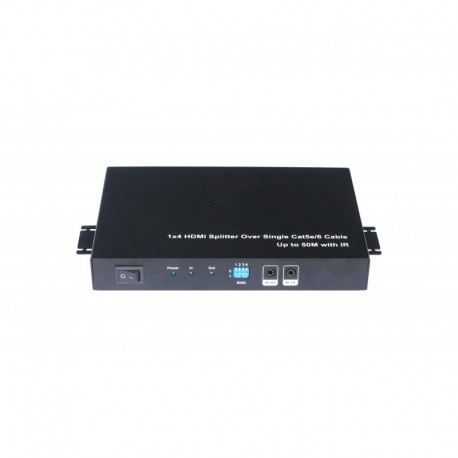 NEXIS  รุ่น FH-SU104L 4 PORT HDMI SPLITTER OVER UTP CABLE WITH 3D SUPPORT