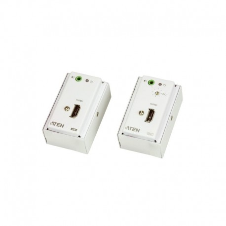ATEN รุ่น VE807 HDMI/AUDIO CAT 5 EXTENDER WITH MK WALL PLATE (1080P  40M)