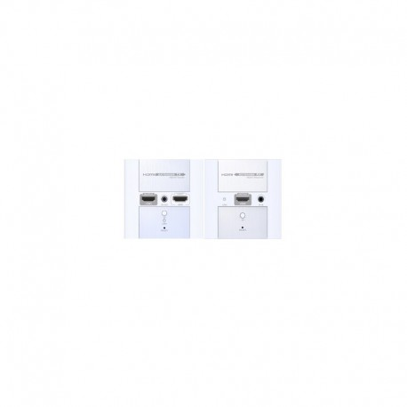 VANZEL รุ่น LE-HW120 HDBITT HDMI OVER IP CAT6 WALL PLATE EXTENDER