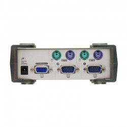 ATEN รุ่น CS82A  2PORT PS/2 DESKTOP KVM SWITCH