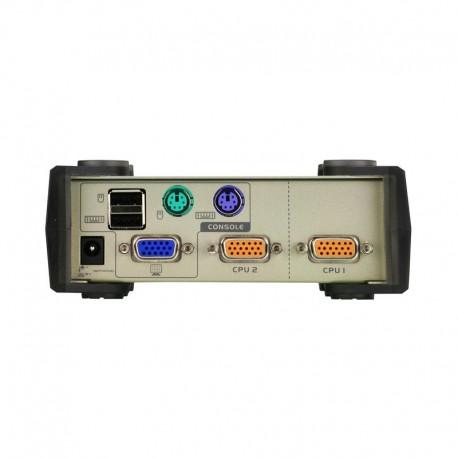 ATEN รุ่น  CS82U 2PORT PS/2-USB KVM SWITCH
